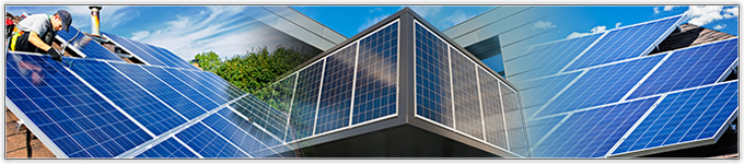 commercial and residential solar panels
