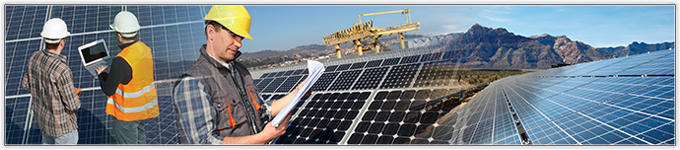 Heavy duty and hazardous solar panels