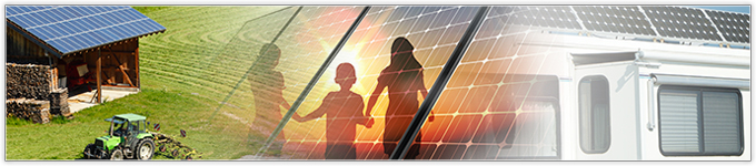 Recreational solar panels and custom applications